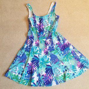 Flattering Flower Dress from Dress Barn